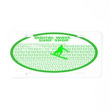 barrelwaveshorewsurferarial Aluminum License Plate
