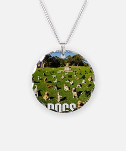 Lifes Better With Dogs Necklace