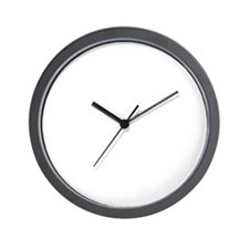 Abseiling-D Wall Clock