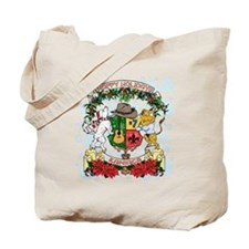 Holiday Kaniac Crest Tote Bag