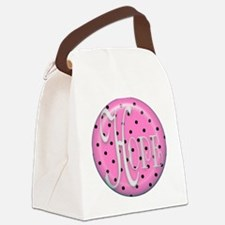 BUTTON Canvas Lunch Bag