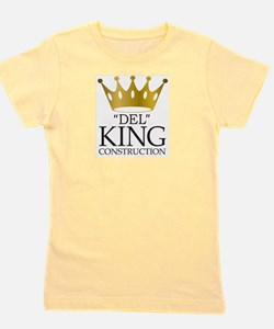 Del King Construction from Multiplicity Girl's Tee