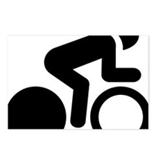 Bicycle-Racer-A Postcards (Package of 8)