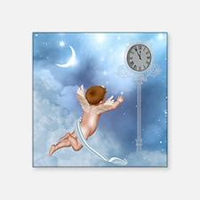 "Little Angel Square Sticker 3"" x 3"""