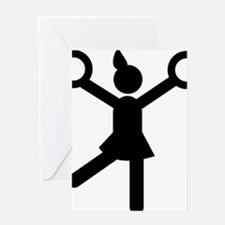 Cheerleading-A Greeting Card