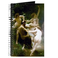 William-Adolphe Bouguereau Nymphs and Saty Journal