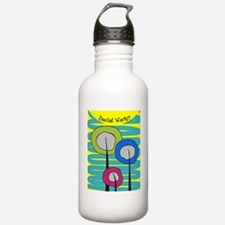 cp social worker 3 Water Bottle