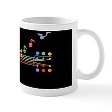 neon-guit-notes-OV Small Mugs