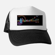 neon-guit-notes-OV Trucker Hat