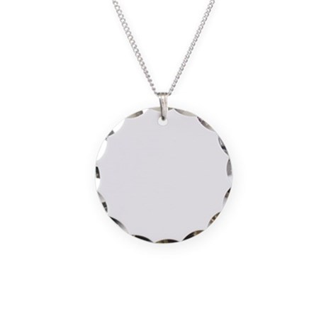 Curling-B Necklace Circle Charm
