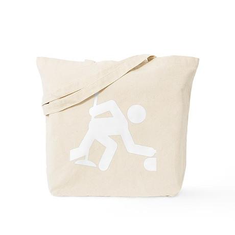 Curling-B Tote Bag