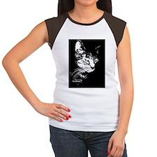 PookieRectCoctailPlate Women's Cap Sleeve T-Shirt