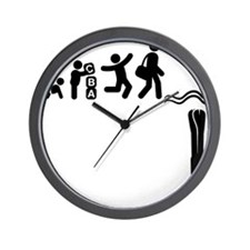 Deep-Diving-E Wall Clock