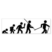 Cross-Country-Skiing-C Bumper Sticker