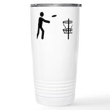Disk-Golf-A Travel Coffee Mug