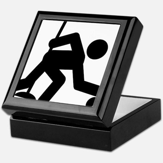 Curling-A Keepsake Box