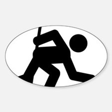 Curling-A Decal