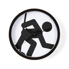 Curling-A Wall Clock