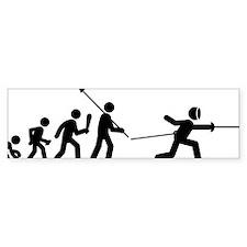 Fencing-C Bumper Sticker