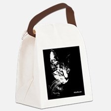PookieWineLabel Canvas Lunch Bag