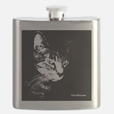 PookieWineLabel Flask