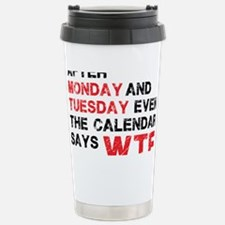 WTF Stainless Steel Travel Mug