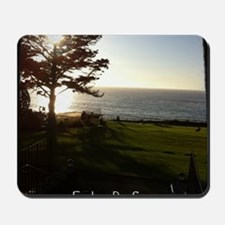 Front lawn at Esalen, Big Sur Mousepad