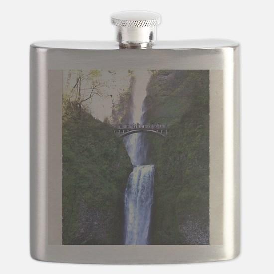 Multnomah falls, OR Flask