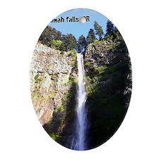 Multnomah falls, OR Oval Ornament