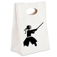 Kendo-A Canvas Lunch Tote
