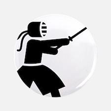 """Kendo-A 3.5"""" Button"""
