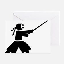 Kendo-A Greeting Card