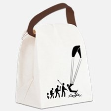 Kiteboarding-C Canvas Lunch Bag
