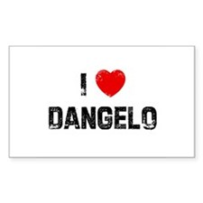 I * Dangelo Rectangle Decal