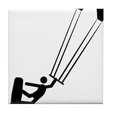 Kitesurfing-A Tile Coaster