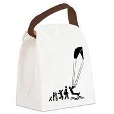 Kiteboarding-E Canvas Lunch Bag