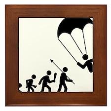 Parachuting-C Framed Tile
