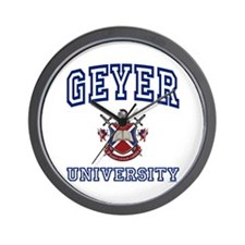 GEYER University Wall Clock