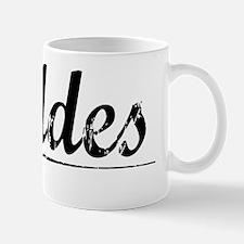 Geddes, Vintage Mug