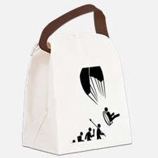 Paramotoring-C Canvas Lunch Bag