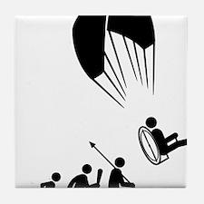 Paramotoring-C Tile Coaster