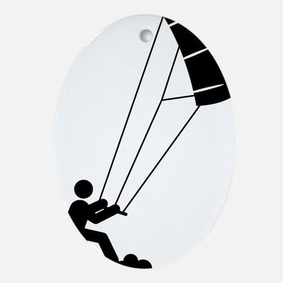 Landboarding-A Oval Ornament