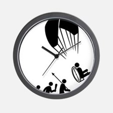 Paramotoring-C Wall Clock