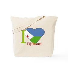 I love Djibouti Tote Bag