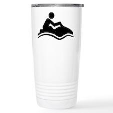 Jet-Skiing-A Travel Mug