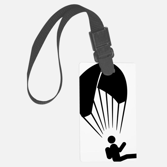 Paragliding-A Luggage Tag