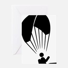 Paragliding-A Greeting Card