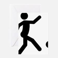 Kickball-A Greeting Card