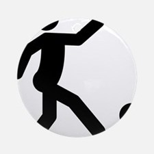 Kickball-A Round Ornament