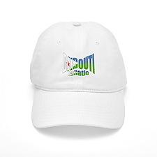 Djibouti flag fanatic Baseball Cap